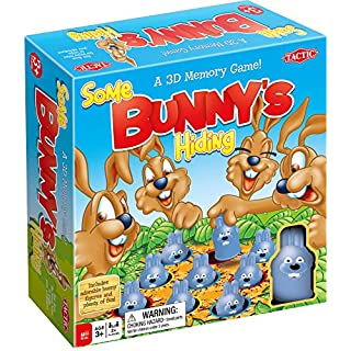 Tactic Games US Somebunny's Hiding Board Game