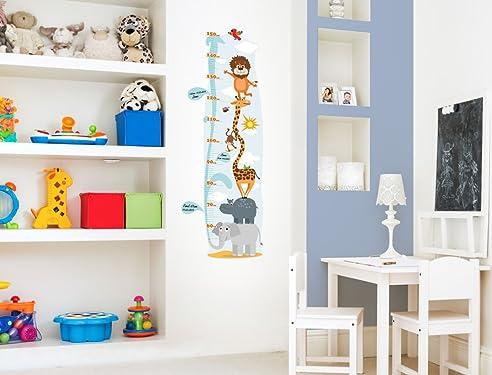 Kinderzimmer gestalten safari  I-love-Wandtattoo M-13-001 Kinderzimmer Messlatte