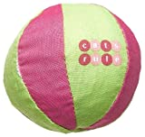 Cats Rule Catnip Toy, Pink/Lime Beach Ball, My Pet Supplies