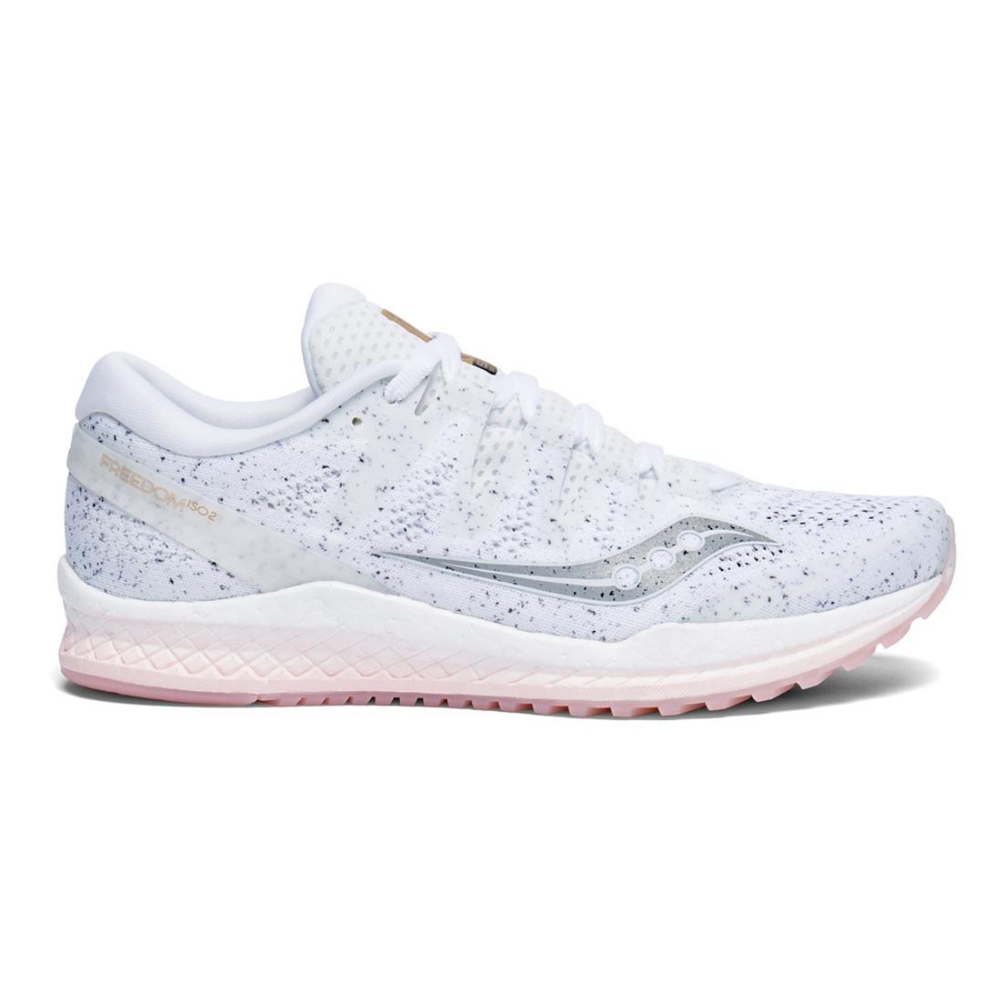 Saucony Women's Freedom ISO 2 Running Shoes B078PP2NGN 11 M US|White