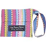 JoJo Maman Bébé - Seggiolone portatile in stoffa, motivo a righe, colore: Rosa/blu