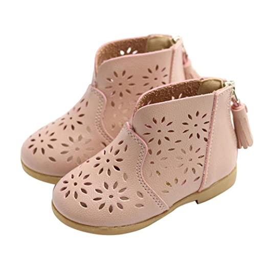 46b5f13675a9b Amazon.com: Girls Shoes for 1-5 Years Old, Infant Toddler Baby Girl ...