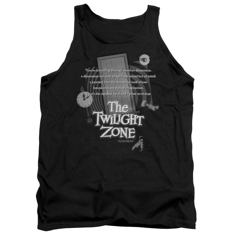 Twilight Zone TV Series CBS Monologue Adult Tank Top Shirt