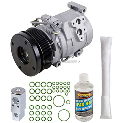 Amazon.com: AC Compressor w/A/C Repair Kit For Toyota FJ Cruiser 2009 2008 2007 - BuyAutoParts 60-80494RK NEW: Automotive