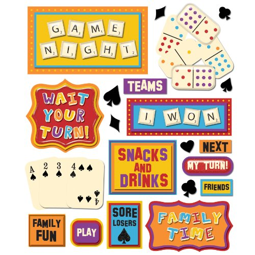 K&Company Game Night Sticker Medley