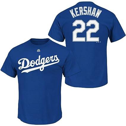 reputable site 079db 95c44 Amazon.com : Majestic Clayton Kershaw Los Angeles Dodgers ...