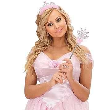 Net Toys Prinzessin Krone Diadem Mit Zauberstab Deluxe Konigin