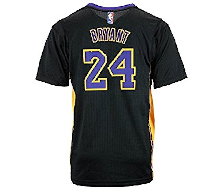 7d956b5fd Amazon.com  Adidas Boys Kobe Bryant Los Angeles Lakers Pride Youth 8-20 Swingman  Jersey (Youth Small)  Clothing