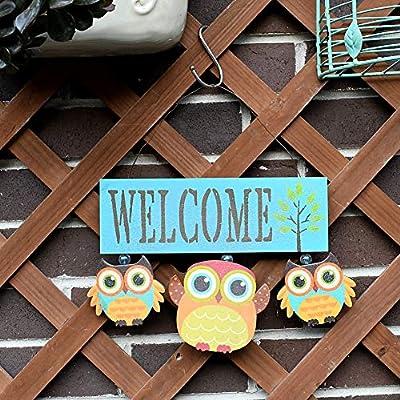 wall hanging plaque. wooden Irish Owl St Patricks day home decor