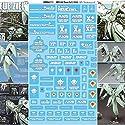 [簡単デカール、不要はさみやカッター] AMX-002 ノイエ・ジール EZデカール 1/550 HGM 用 デカール 水転写式 0083 HGの商品画像