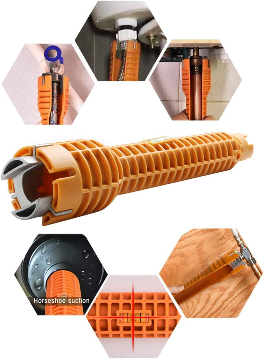 Details about  /Plumbing Water pipe wrench Nut Close Filter Household Faucet Installer