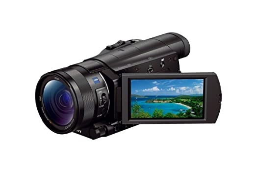 Sony FDR-AX100/B 4K Video Camera with 3.5-Inch LCD (Black) Camcorders at amazon