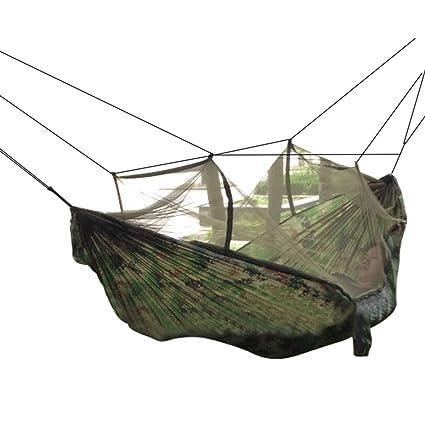Great Dayincar Camping Hammock Mosquito Net Hammock Hiking Hanging Bed Portable  High Strength Parachute Fabric Travel Bed