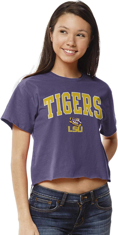 NCAA Womens League Clothesline Cotton Crop Top