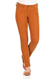 b80cbe63ef23b Lee Damen Jeans Scarlett - Skinny Fit - Braun - Cognac