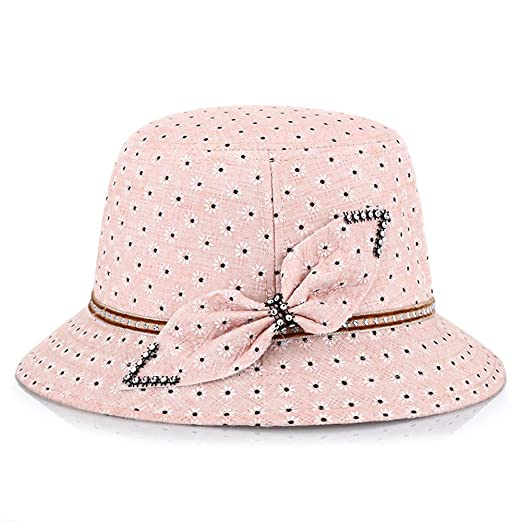 feafb913c6f ChenXi Store Bucket Sun Hats Women Cotton UPF 50+ UV Protection Packable  Summer Hat at Amazon Women s Clothing store