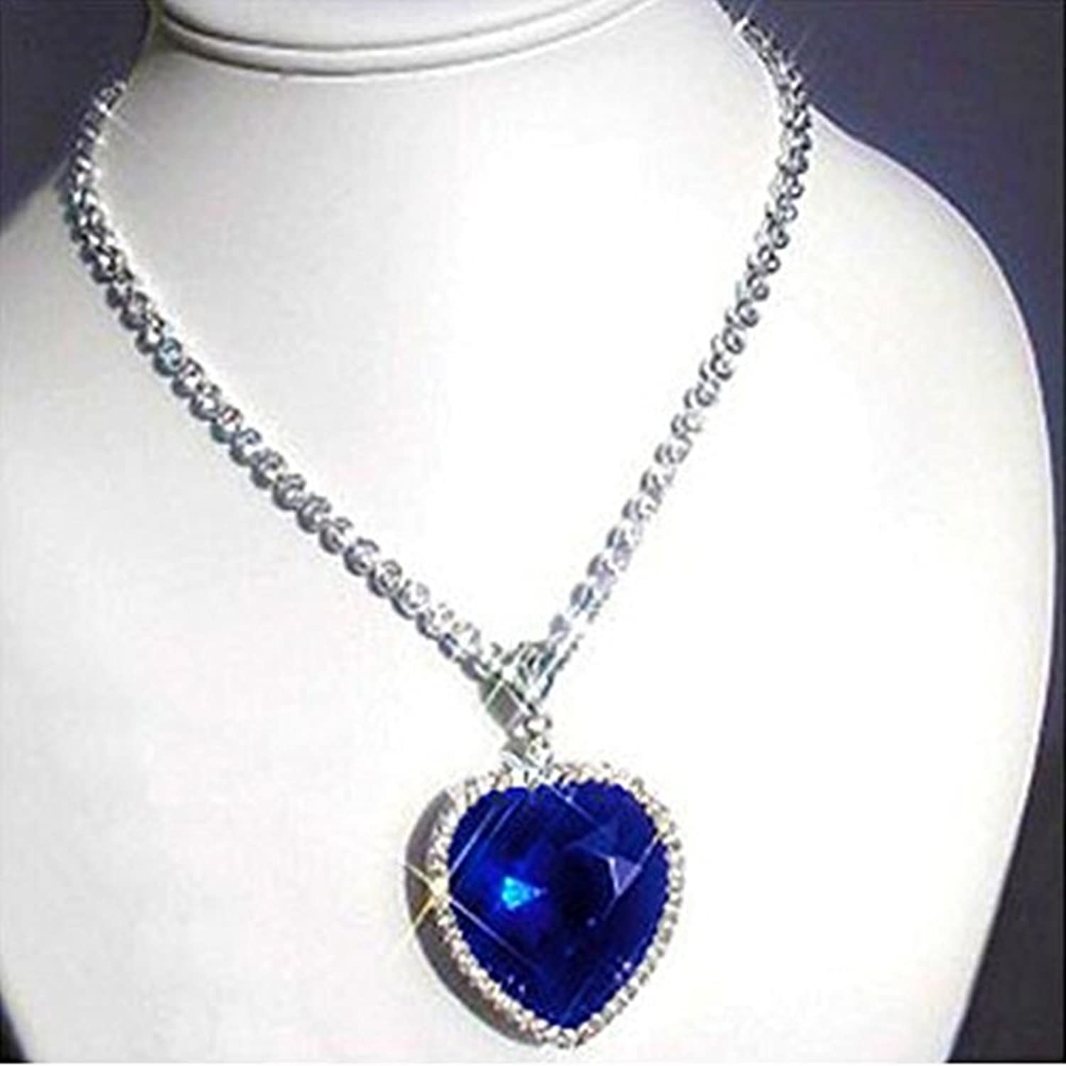 gold sapphire diamond blue product necklace chandelier white bs pendant lazo