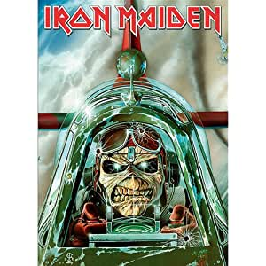 Iron Maiden - Postcard Aces High: Amazon.es: Hogar