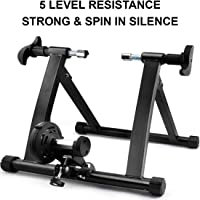 LVR Supply Magnetic Indoor Bike Trainer Stand 2018 | Fitness Bicycle Trainer | 5 Level Resistance