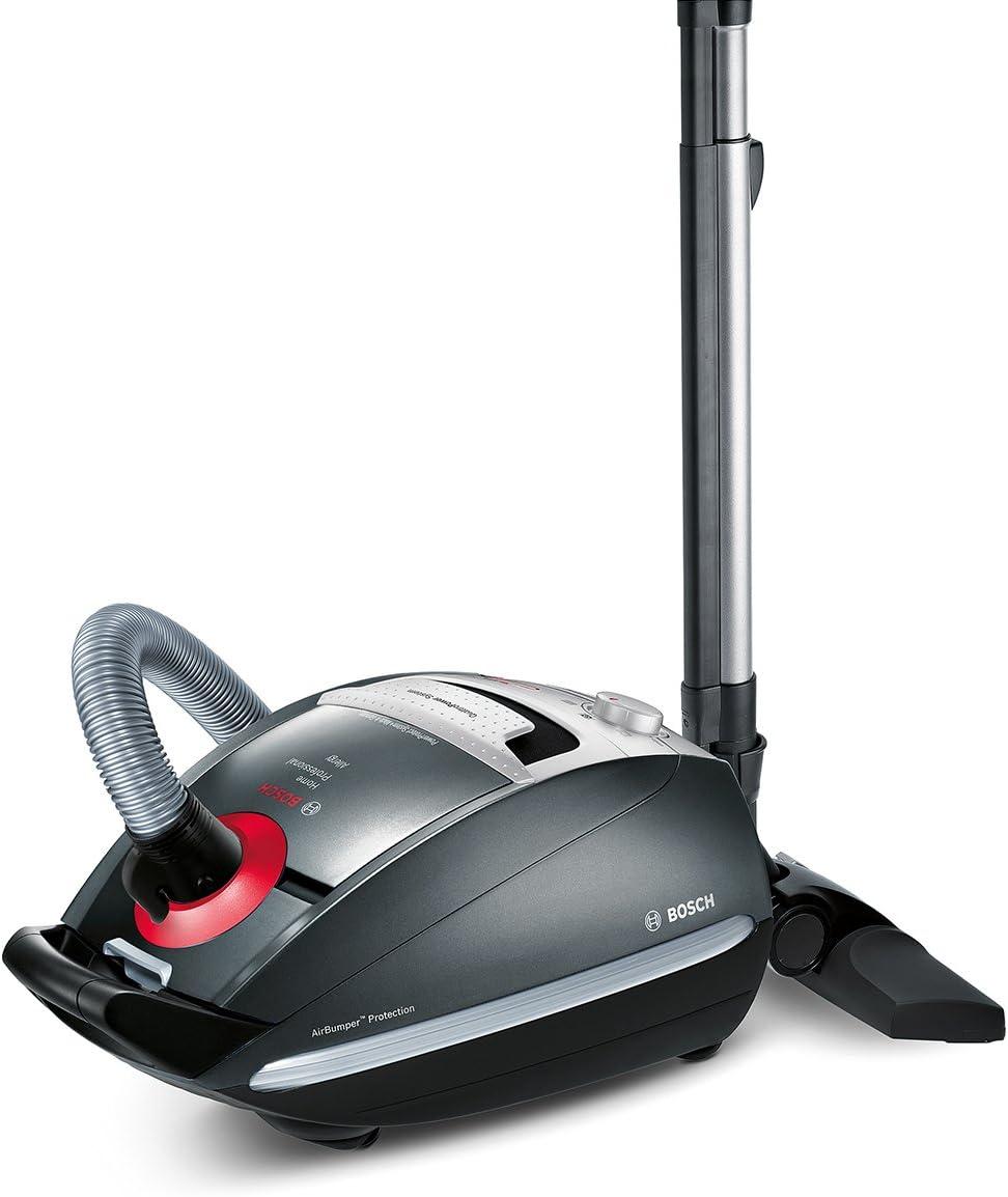 Bosch BSGL5PRO7 Home Professional - Aspiradora, eficiencia energética A, con bolsas, sistema PowerProtect, boquilla electrónica, de titanio: Amazon.es: Hogar