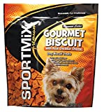 SPORTMiX Gourmet Biscuit with Real Cheddar Cheese Dog Biscuit Treats, 3-Pound Bag