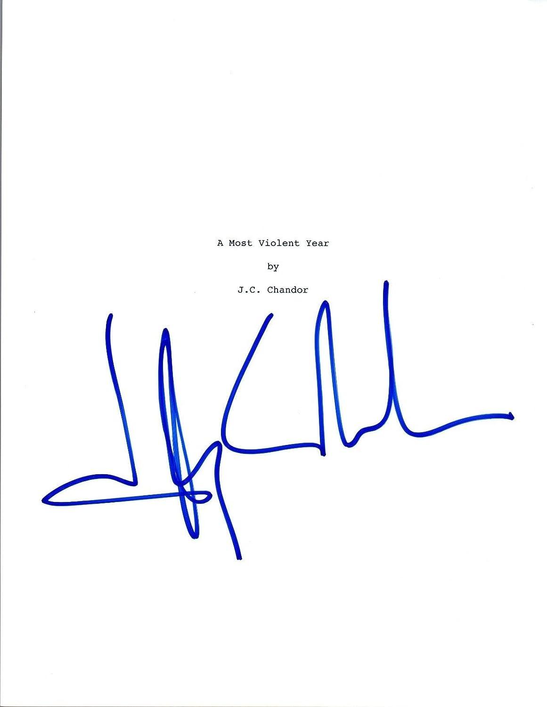 J.C. Chandor JC Signed Autographed A MOST VIOLENT YEAR Movie Script COA VD Unbranded