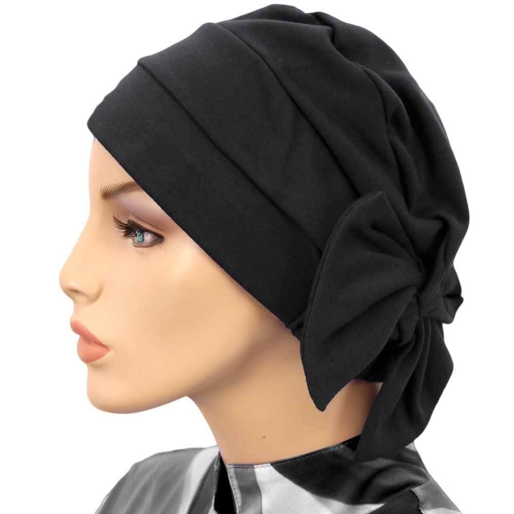 Hats for You Women\'s Chemo Cap with Removable Bow