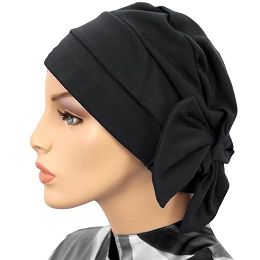 c4d09aa9b60 Hats for You Women s Chemo Cap with Removable Bow