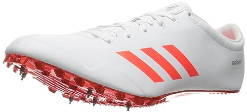 adidas Adizero Prime SP Track Shoe, White/Infrared/Metallic ...
