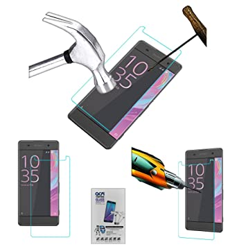 Acm Tempered Glass Screenguard for Sony Xperia Xa Dual Screen Guard Scratch Protector Mobile Accessories