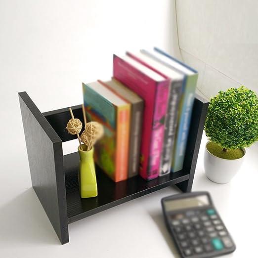 FJXLZ® Librería Libro Stand 330 * 200 * 250 Mm Woody Estante Mesa ...