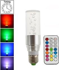 2016 New 220V /110V RGB Bulb lamp RGB LED Bulb E27 3W LED Lamp Light