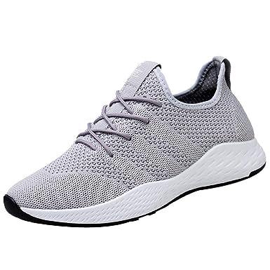 1be9eda319 SHINEHUA Sportschuhe Damen, Damen Fitness Laufschuhe Running Sneaker Netz  Gym Schuhe Atmungsaktiv Männer Turnschuhe Gute