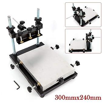 3024 Impresora de Plantilla Manual PCB SMT Máquina de Impresión de ...