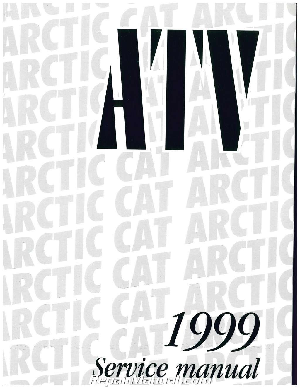 2256-089 1999 Arctic Cat 500 4X4, 400 4X4, 300 4X4, 300 2X4, 250 2X4 ATV  Service Manual: Manufacturer: Amazon.com: Books