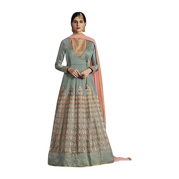 Amazon.com: Bollywood Collection Anarkali Salwar traje para ...