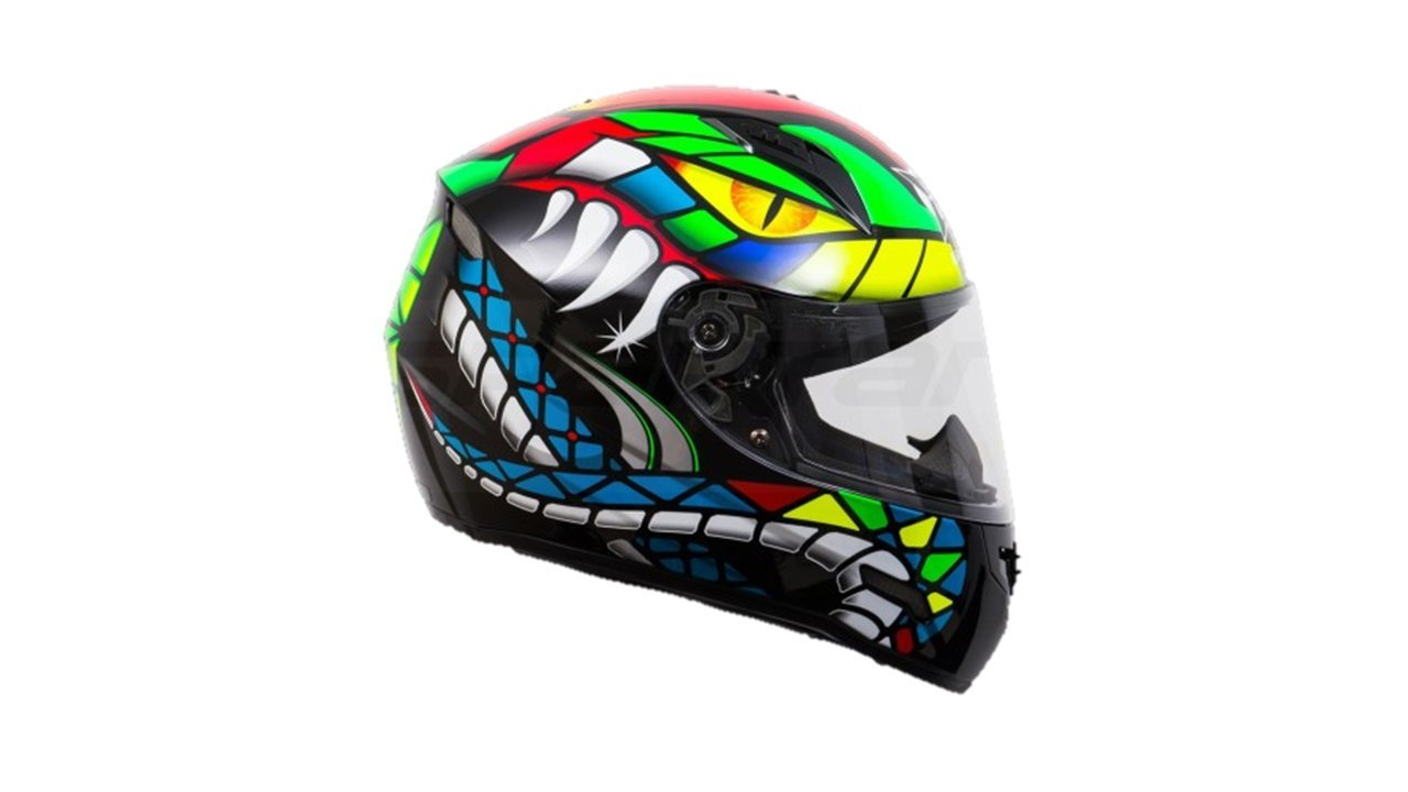 Kranos Imola Future Viper Full Face Helmet M Multicolor Amazon