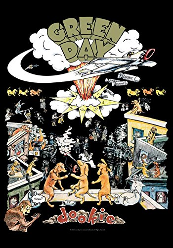 Poster Day - Green Day- Dookie Fabric Poster 30 x 40in