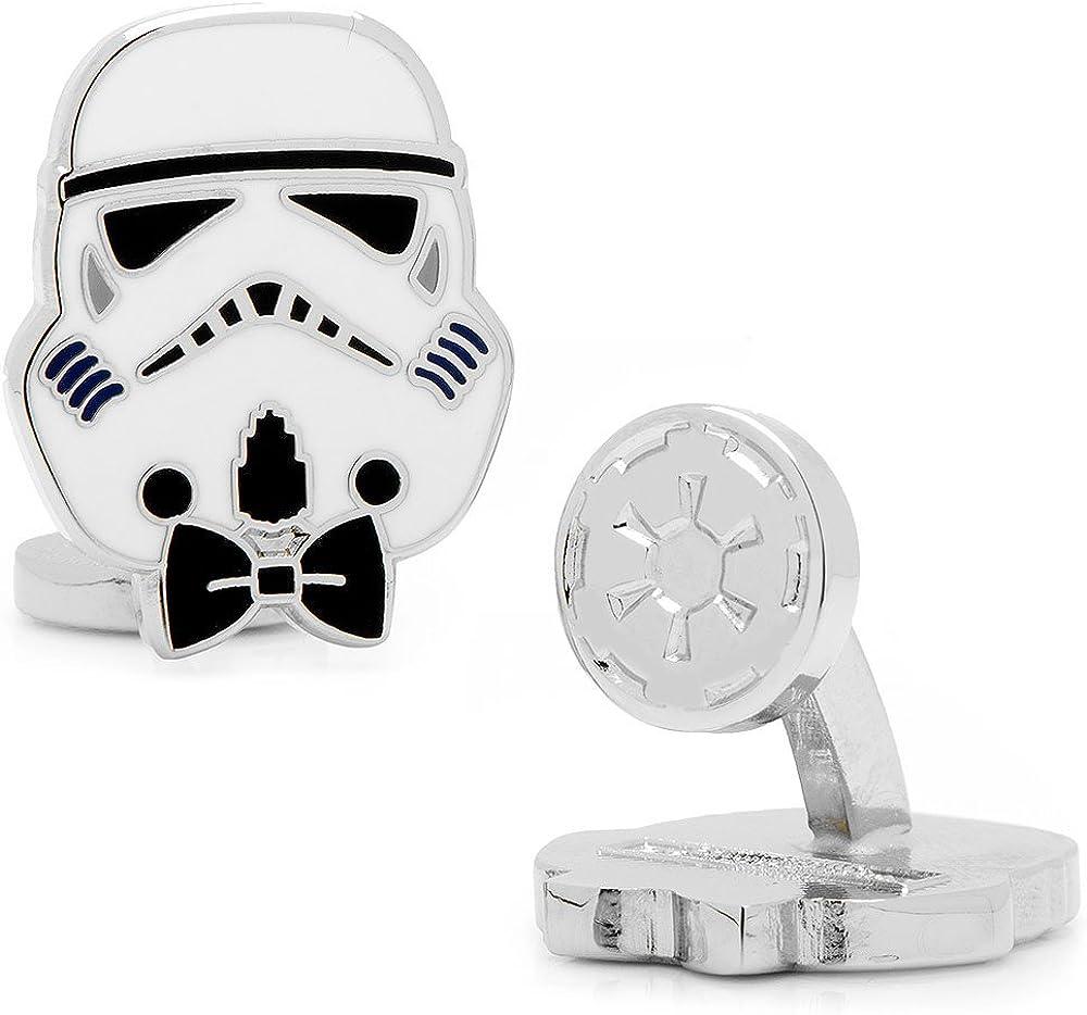 Star Wars 3D Stormtrooper Manschettenknöpfe Cufflinks Shirt Links Geschenk