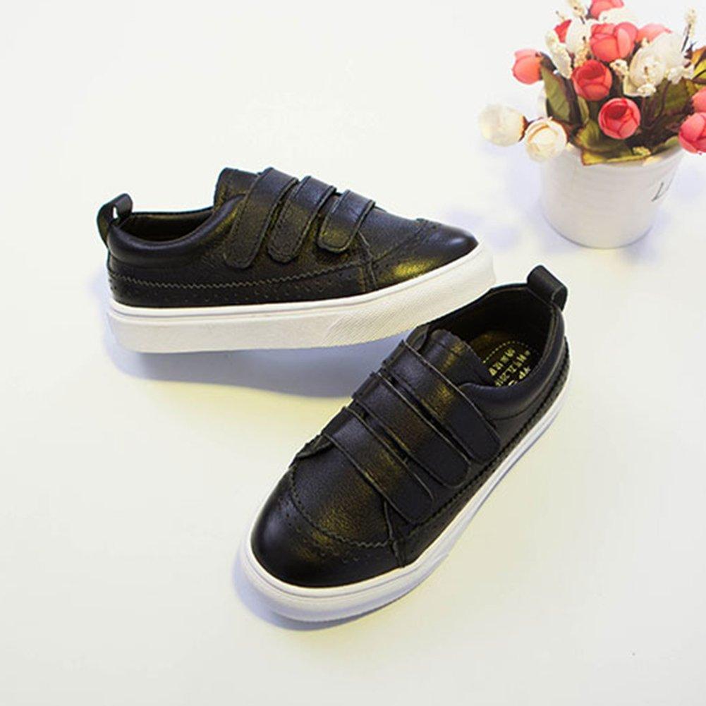 SFNLD InStar Kids Classic Hook and Loop Strap Antiskid Sneakers Shoes