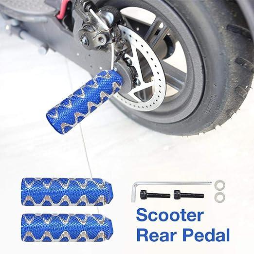 Ecisi Clavijas de Scooter,2 PCS Aleación de Aluminio ...