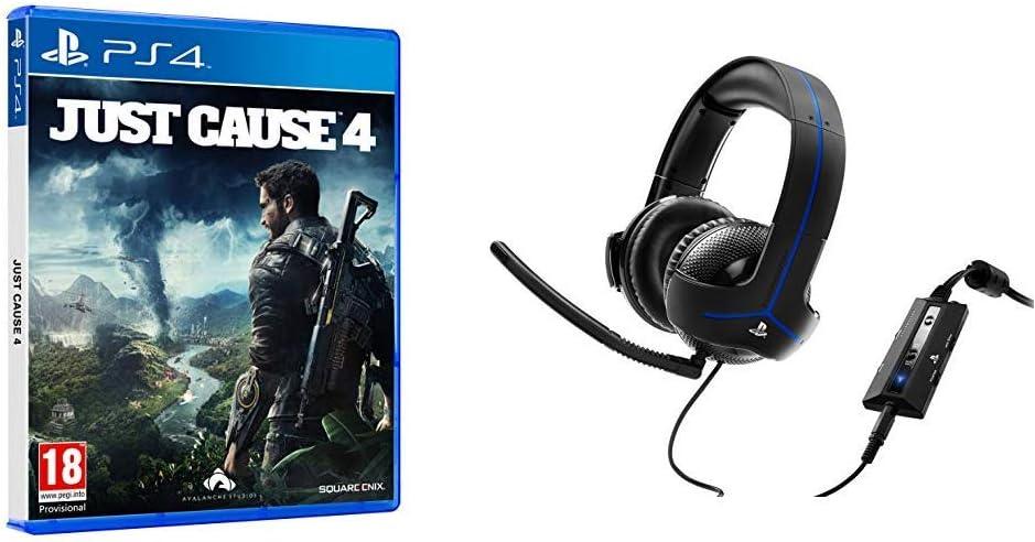 Just Cause 4 + Headset Thrustmaster Y-300P: Amazon.es: Videojuegos