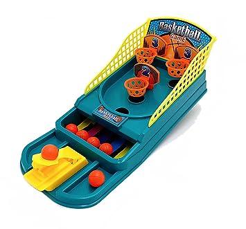 Juego de mesa de baloncesto para niños de 3 años de edad: Amazon ...