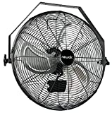 NewAir WindPro18W 18-inch High Velocity Wall Mount Fan