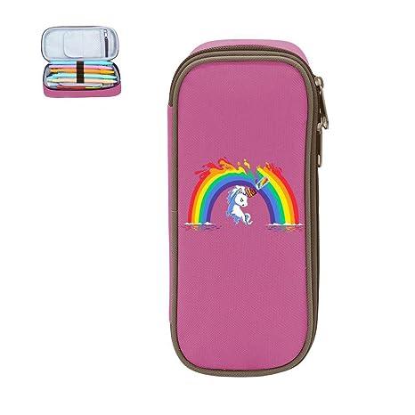 Rainbow Unicorn - Estuche de maquillaje para niñas: Amazon ...