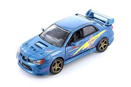 Amazon.com: Motormax Subaru Impreza WRX STI, azul 75701/2D ...