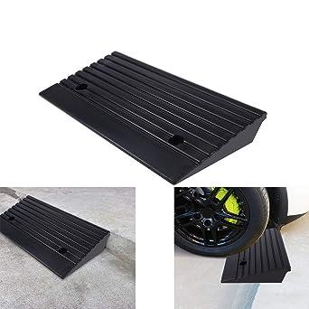Goma Rampa - Juego de 2 rampas de silla de ruedas rampa de ...
