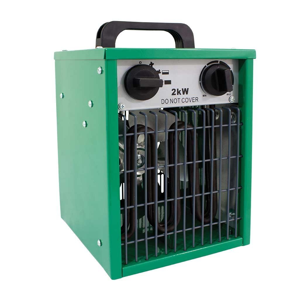 Large Parasene Electric Greenhouse Heater / Conservatory / Garage / Out Building / Garden / Outdoor / Plant Warmer / 1-2KW / S&MC Gardenware