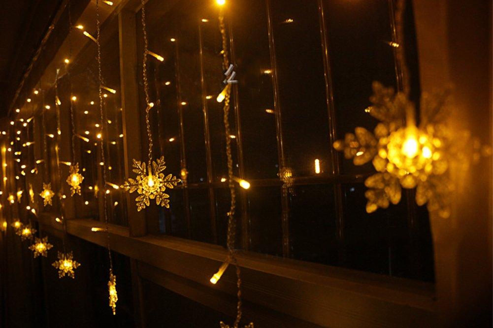 BUOCEANS 3.5 x 0.8 m LED Catena Luminosa Luci Di Natale Image 3
