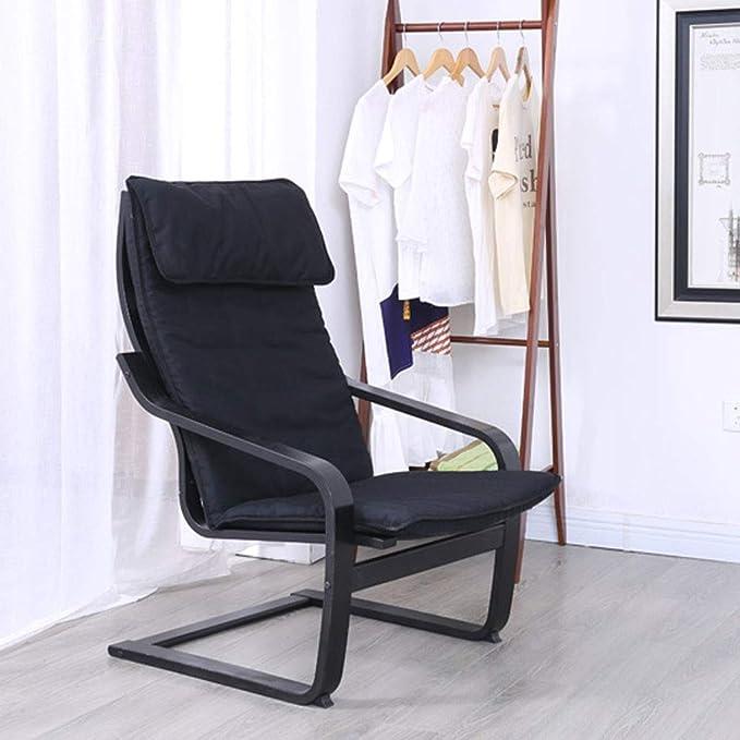Amazon.com: Silla reclinable de madera maciza plegable para ...
